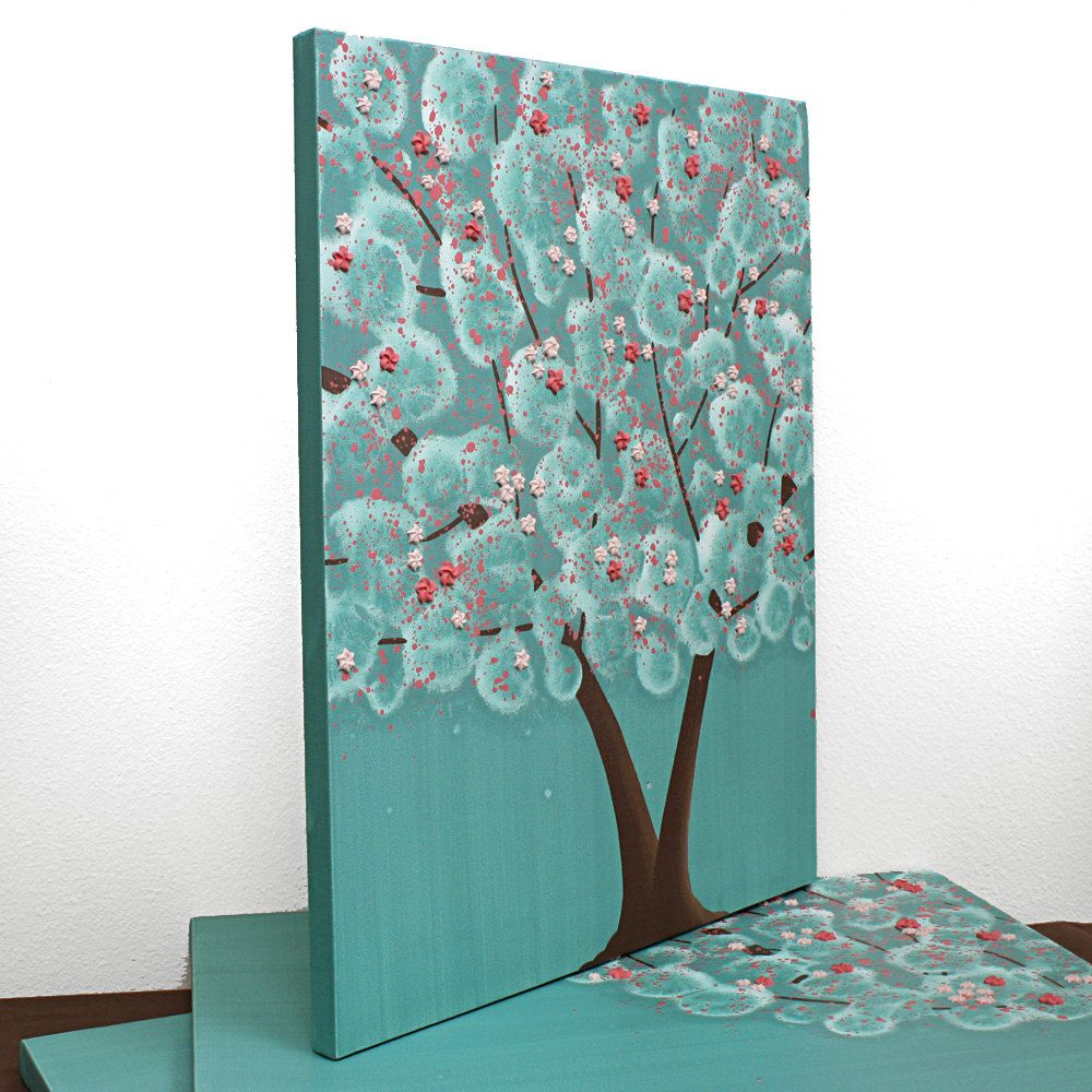 Teal And Pink Bedroom Decor Modern Wall Decor For Teen Girls Room Pink And Teal Flower