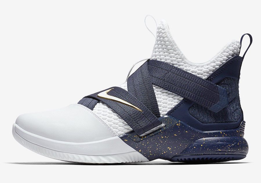 huge selection of 61b01 3b5e8 Nike Lebron Soldier XII SFG White Blue Size 12 US Mens ...