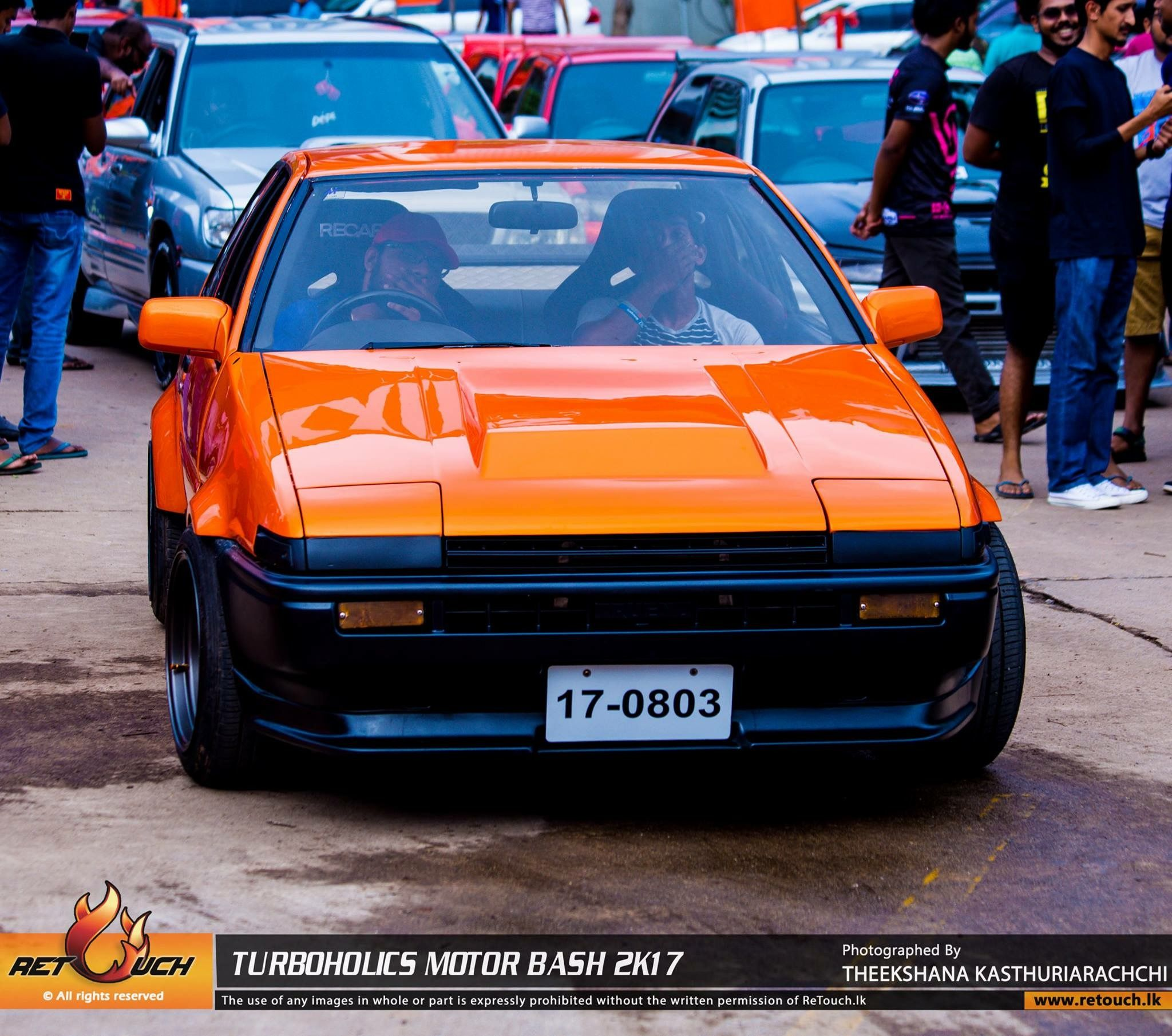 Ae86 hachiroku in srilanka with a sr20 engine