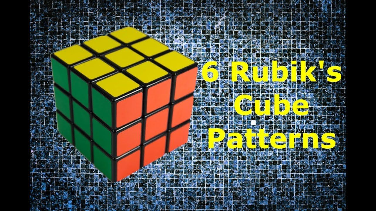 Cool Rubiks Cube Patterns Cool Decoration