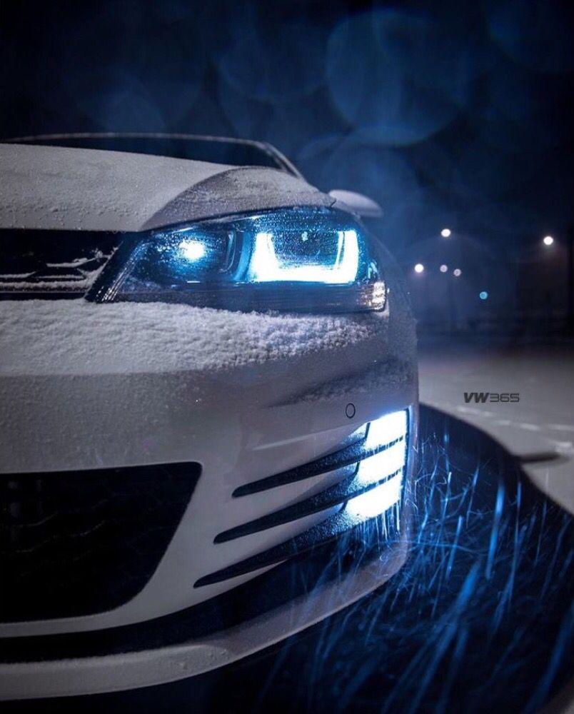 Volkswagen Car Wallpaper: Icy Cold - #MK7GTI #VW365