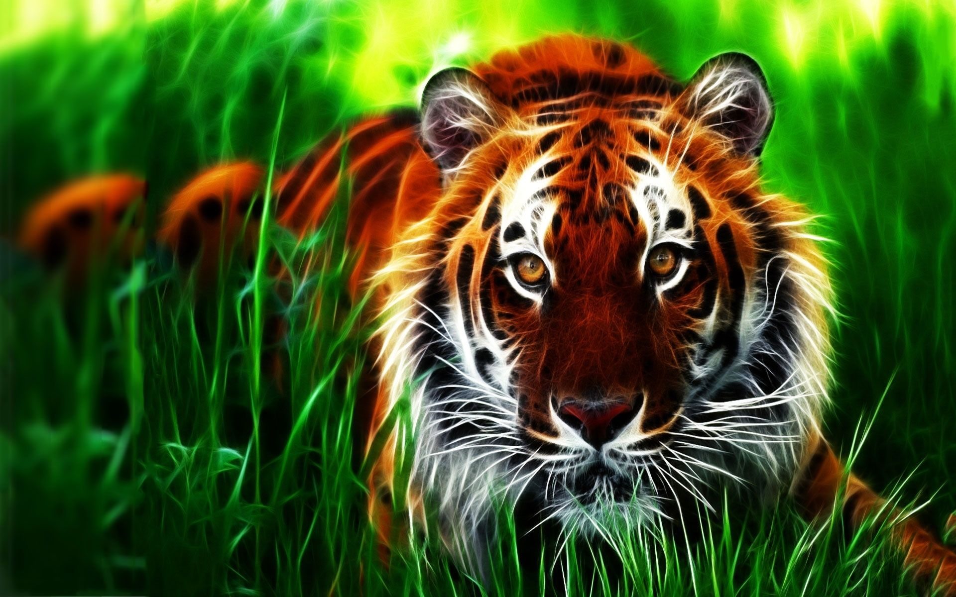 Download 3d Tiger Wallpaper HD
