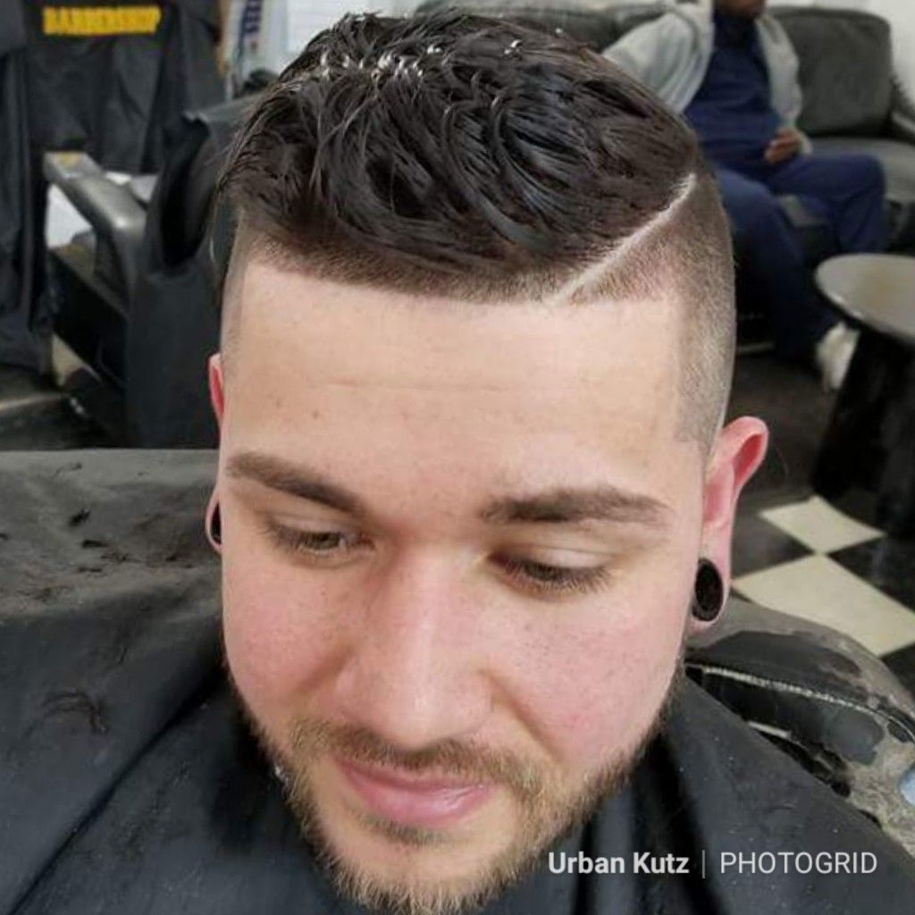 Wave The BOUSE From Our Urban Kutz Barbershop Detroit Avenue Location On  This Shadow Fade U0026