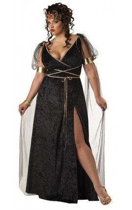 Disfraz De Medusa Para Mujer Talla Grande Disfraces Tallas Grandes Disfraces Para Gorditas Disfraz Mujer