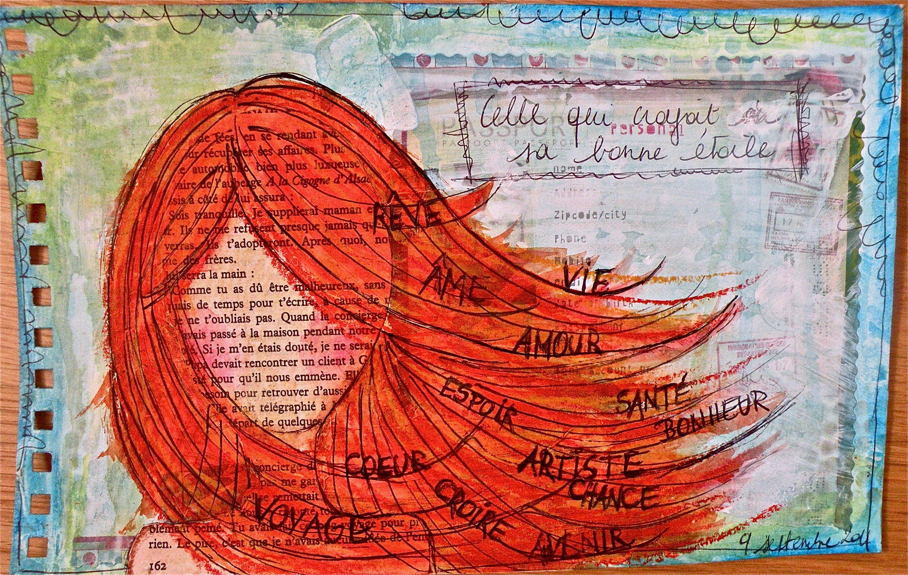 Pin On Art Journal Love 3