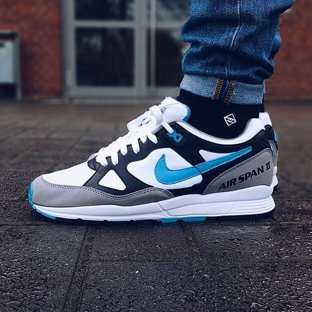 The 90s are back    sneakophilo Socks   j.clay socks - Black Basic  Nike  Air Span II OG Socks for your Sneakers! Link in Bio  socks  nike   nikeairspan ... 502f6536c