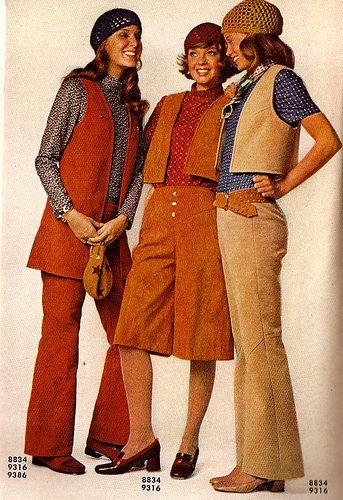 70s Women' vests