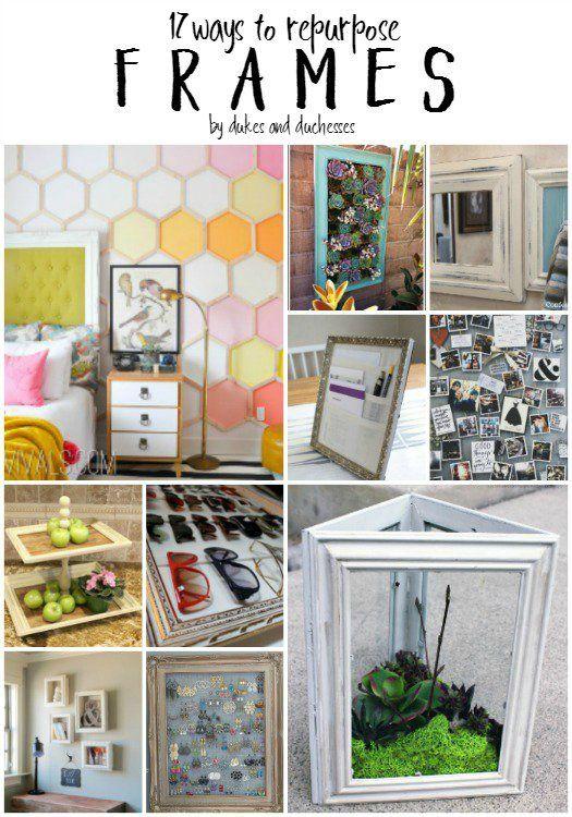 DIY Picture Frames to Make | Diy frame, Picture frame crafts