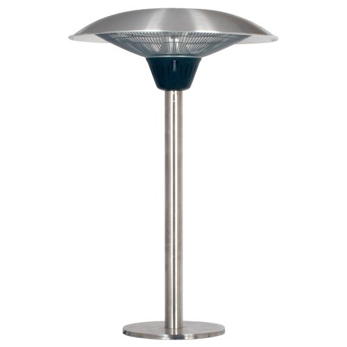 La Hacienda 69502 Halogen Table Top Electric Patio Heater Warehouse Clearance