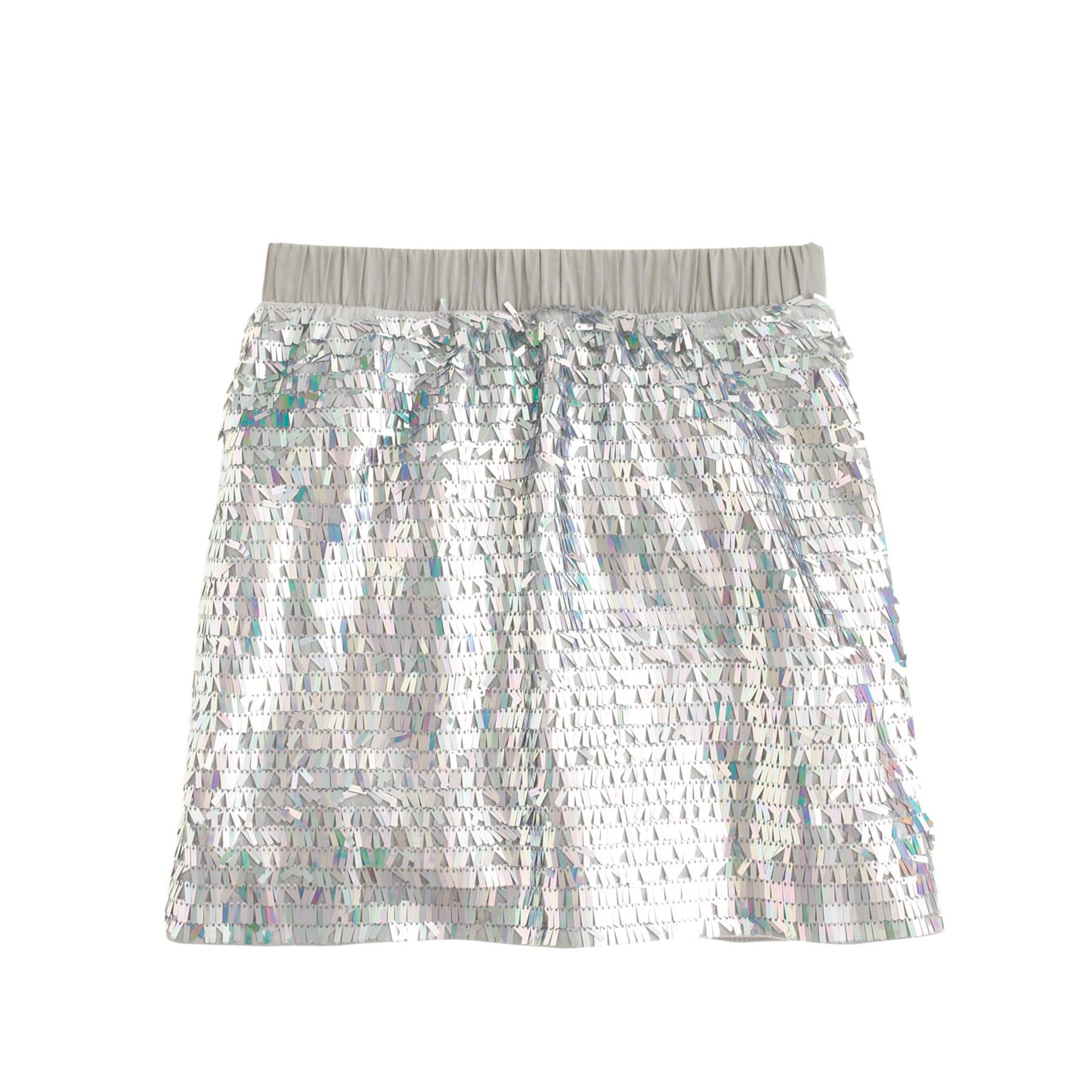 J.Crew girls' mermaid sequin skirt in light dusk. | Girls ...