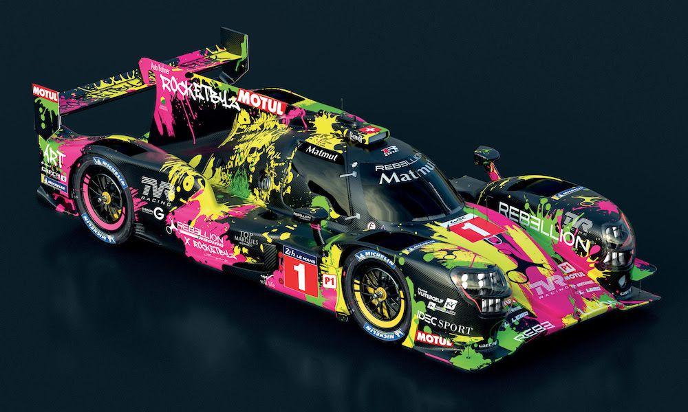 Rebellion Reveals Art Car Liveries For 24h Le Mans Mobil Modifikasi Mobil
