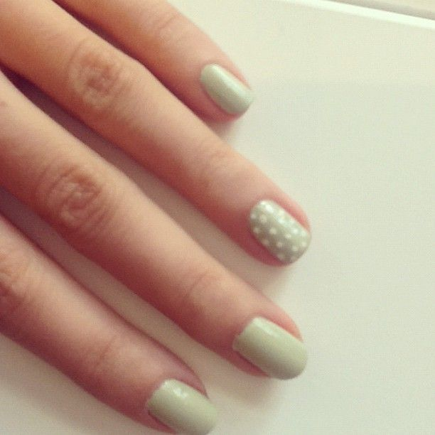 Glossyboxuks Photo Doing Polka Nails Is Really Easy Either Use A