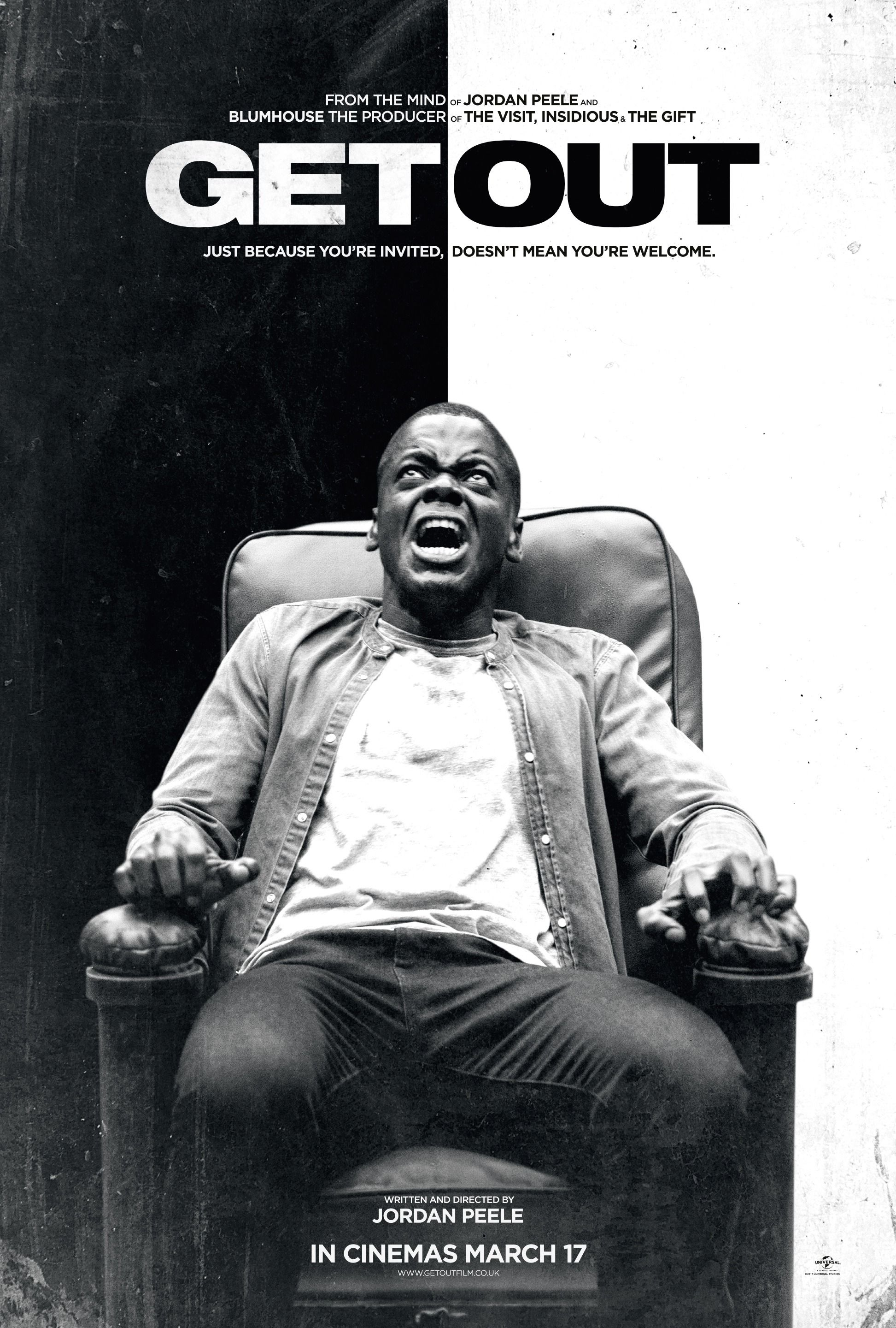 Get Out 2017 Hd Wallpaper From Gallsourcecom Movie Theater