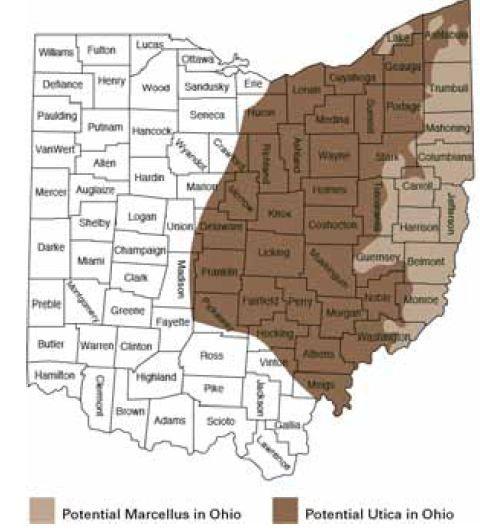 Utica Shale Oil Discovery In Ohio News And Maps Utica Ohio Shale