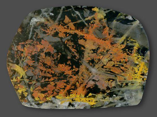 Pilbara Picasso Jasper, West-Australia