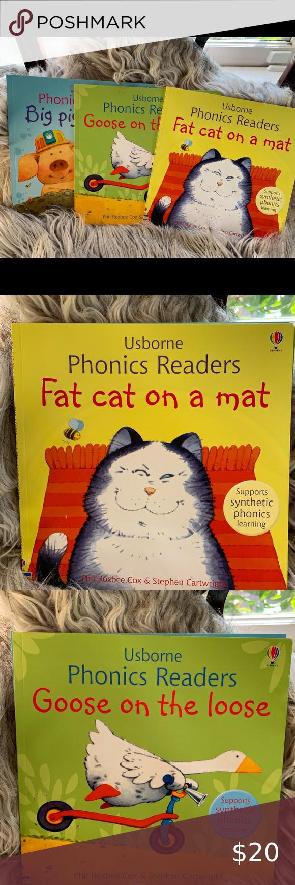 Usborne Phonics Children S Books Brand New In 2020 Phonics Childrens Books Big Pigs