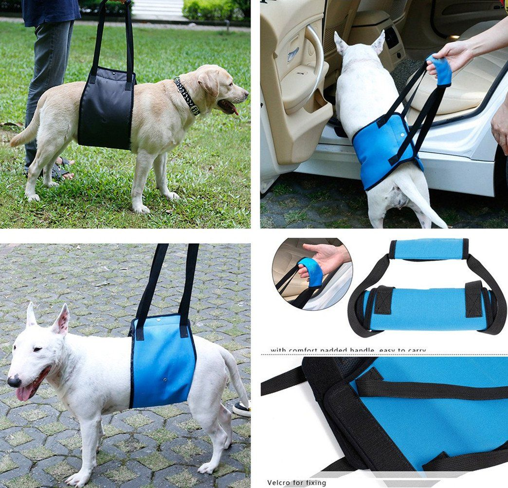 Dog Support Dog Lift Harness With Handle Dog Mobility Sling Lift