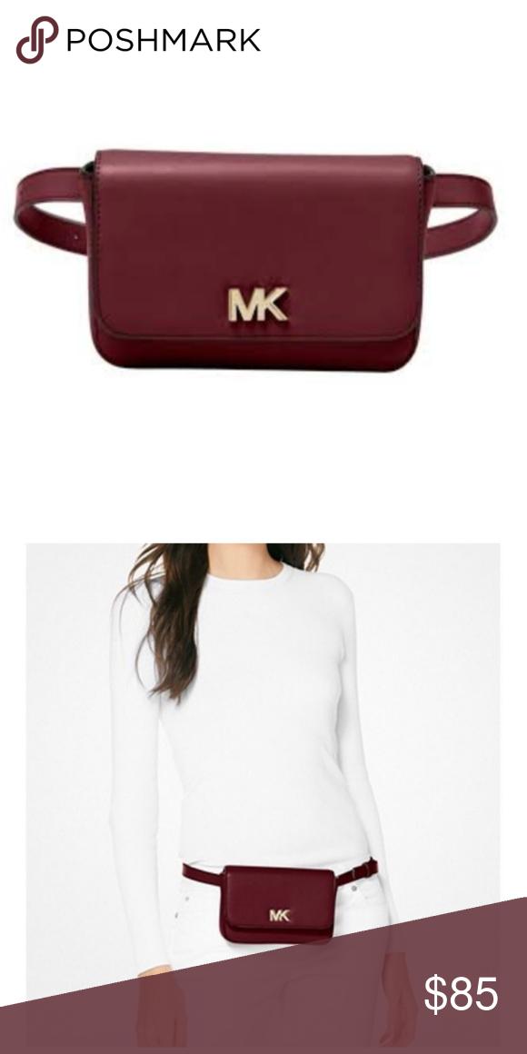 New Michael Kors Mott Belt Bag Nwt New Michael Kors Belt Bag Leather Ox Bliid 30s8g0xn1l Michael Kors Bags Cros Belt Bag Michael Kors Michael Kors Bag
