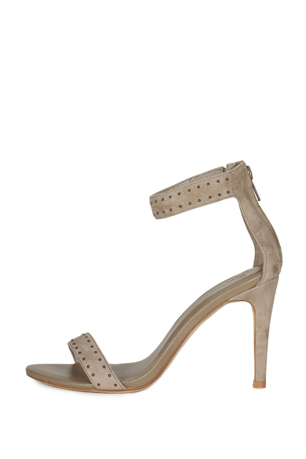 a03b2c6e79bb Classy high heels with an open toe strap
