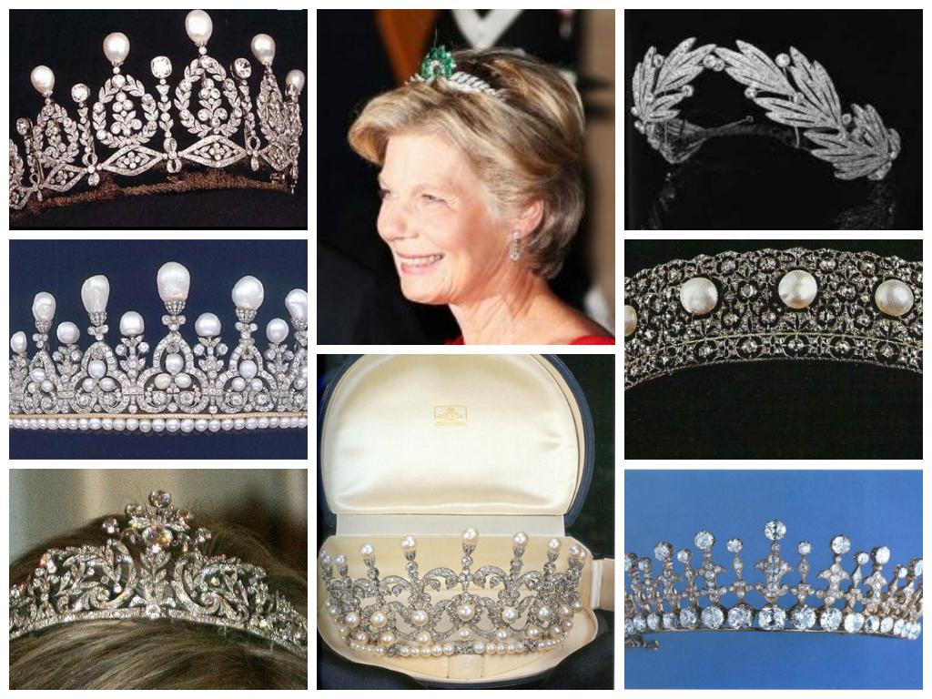 House Of Savoy Tiaras My Favorite Is The First Tiara On The Third Row Royal Tiaras Beautiful Tiaras Royal Jewelry