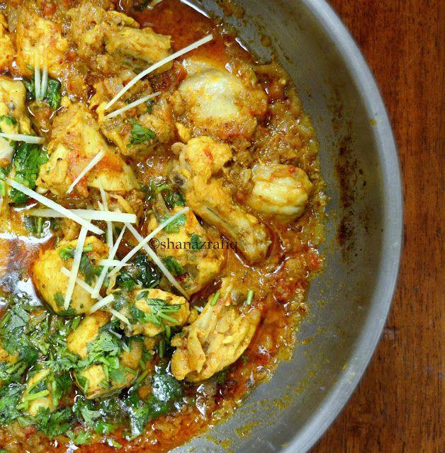 Pakistani Street Style Chicken Kadai Pakistani Food Indian Food Recipes Cooking