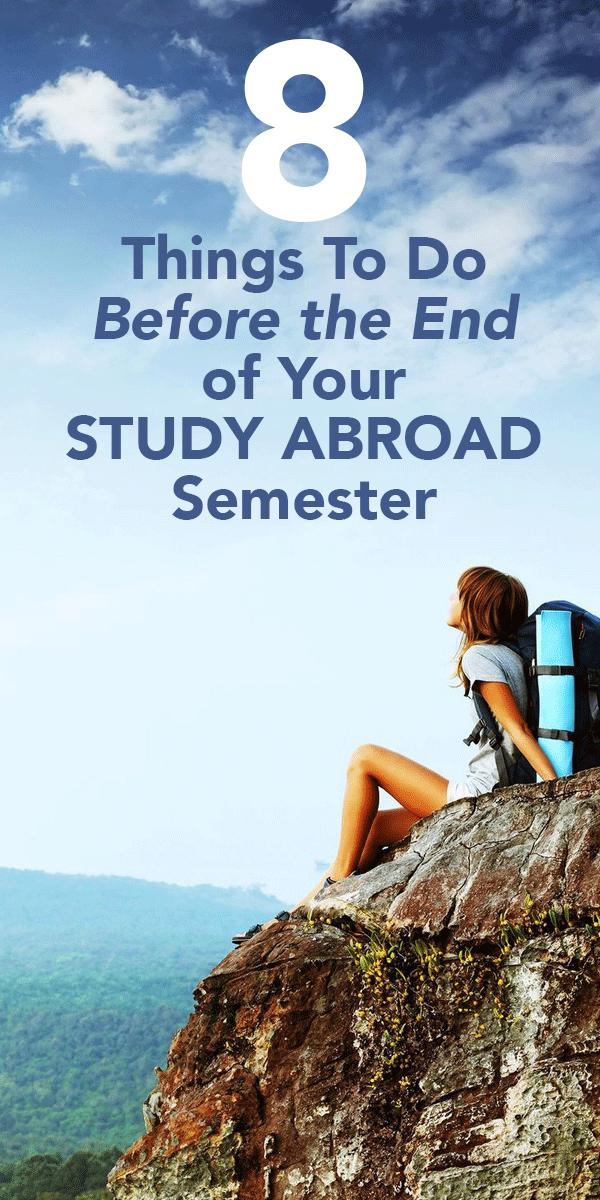 Study abroad essay titles