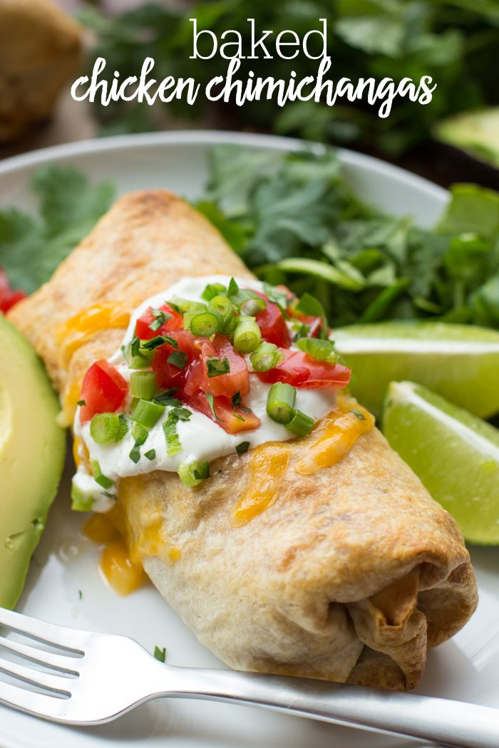 Chicken Chimichanga #fooddinners