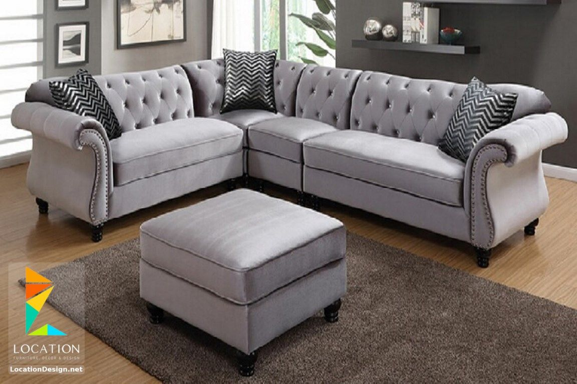 اشكال ركنات مودرن واسعارها لوكشين ديزين نت Grey Fabric Sofa Grey Sectional Sofa Fabric Sofa