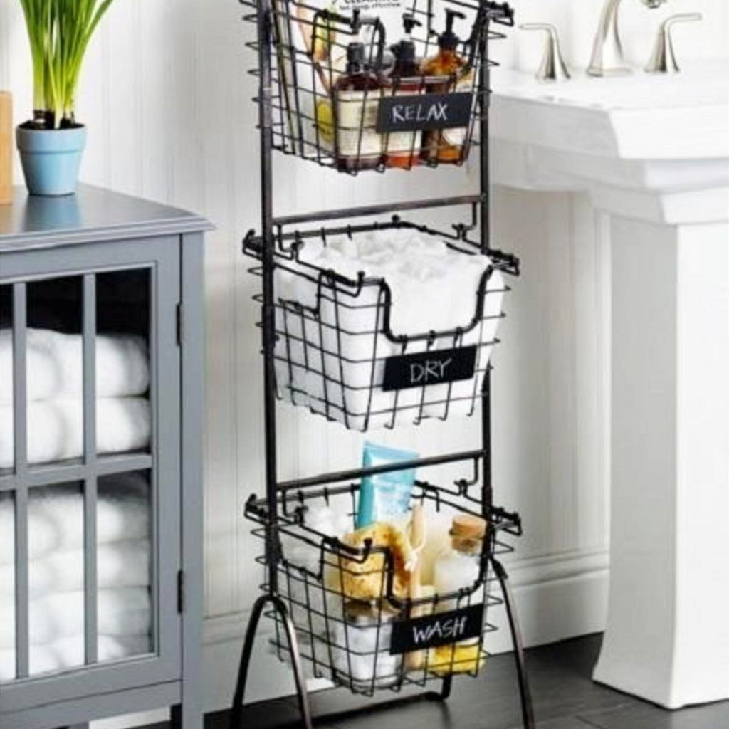 Small Bathroom Organization Ideas Great For Dorm Bathrooms And Apartment Too