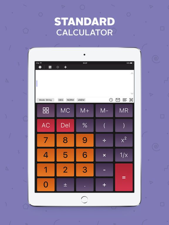 Calculator Scientific Calculator Unit Converter by