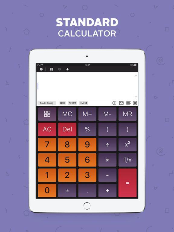 Calculator Scientific Calculator Unit Converter by
