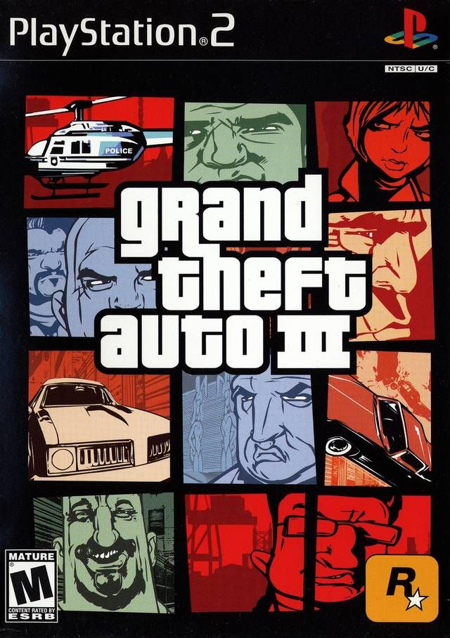 Grand Theft Auto Iii Sony Playstation 2 Game Grand Theft Auto