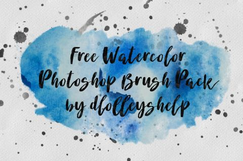 Free Watercolor Brush Pack Photoshop Brushes Photoshop