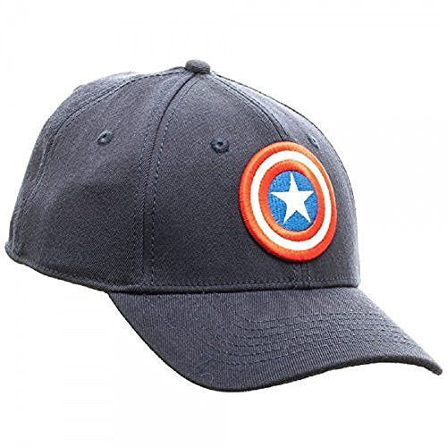 854eabe808f Marvel Avengers Captain America Flex Fit Hat