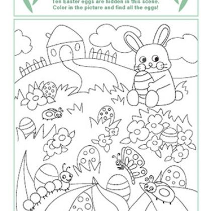 Another Easter Activity Page
