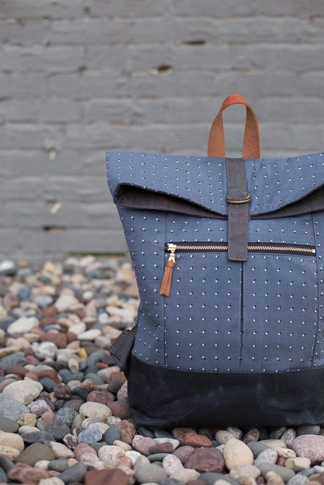 Range Backpack PDF Pattern #zippertop