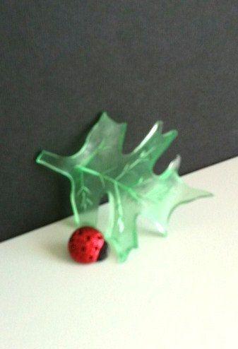 Lady Bug Leaf SOAP Baby Shower Favor, Ladybug Birthday Party Favor, Bridal Shower Favor, Personalized Favor, Handmade Favors. via Etsy.