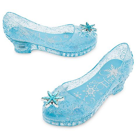 Frozen Light-Up Costume Shoes for Kids
