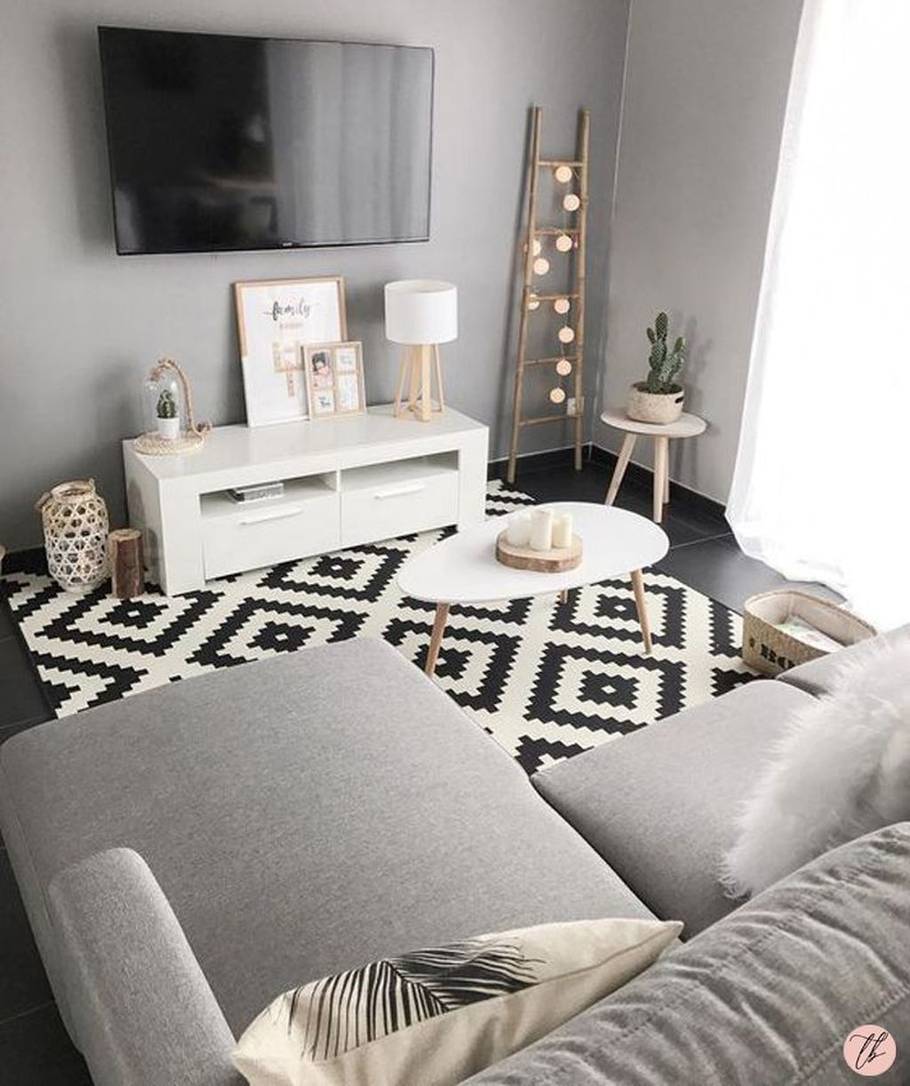 20 Modern Apartment Decorating Ideas On A Budget Living Room Decor Apartment Small Apartment Living Room Small Apartment Living