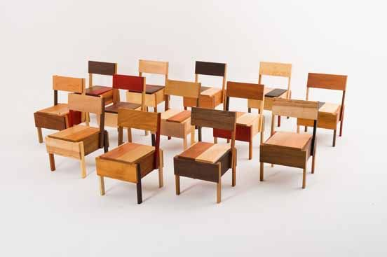 the design calls for 13 pieces of wood so monk used thirteen