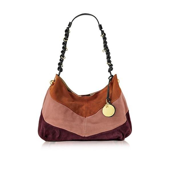 See by Chloé Madie Multicolor Suede Hobo Bag OMG, what c bag! ♥ #hobo #bag…
