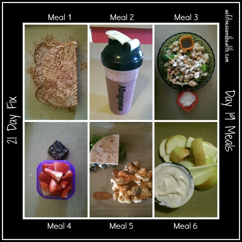 21 day fix day 19 meals Weekly meal plan updated on Mondays with a vlog! asfitnessandhealth.com/blog