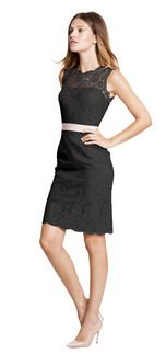 Watters Carita $280  Another lace; can get the belt and lining in a variety of colors.