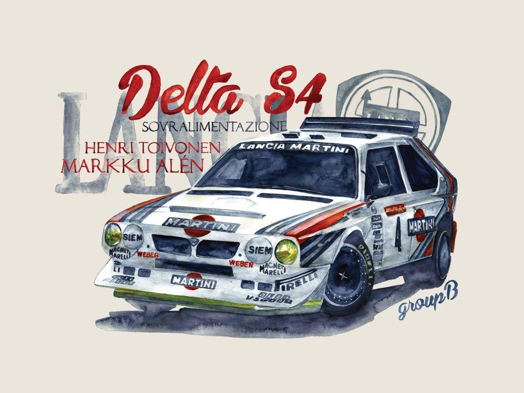 Lancia delta s4 group b pinterest lancia delta cars and car lancia delta s4 vanachro Choice Image