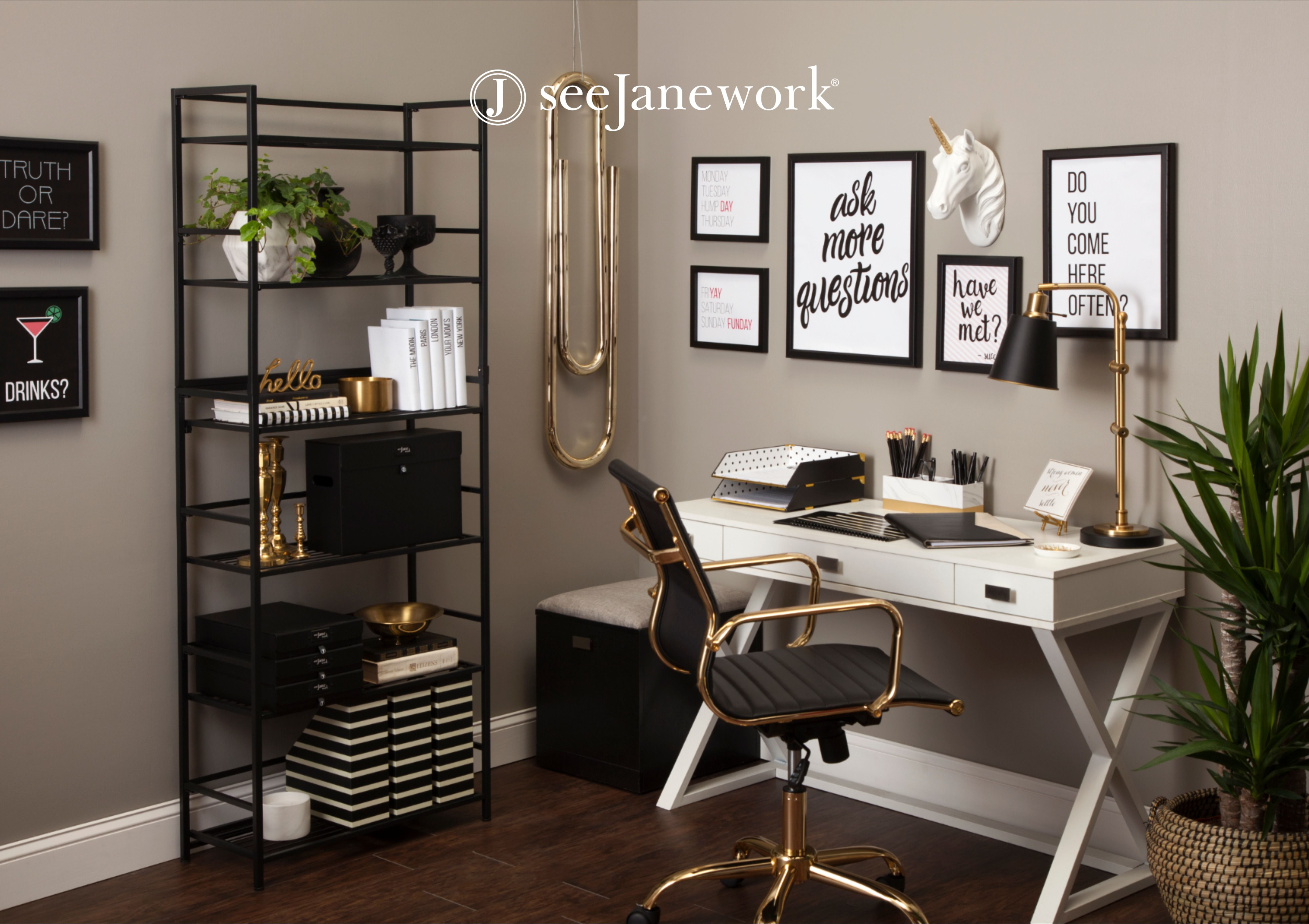 Cute Home Office Accessories Storage In 2020 Home Office Design Cheap Office Furniture Work Office Decor