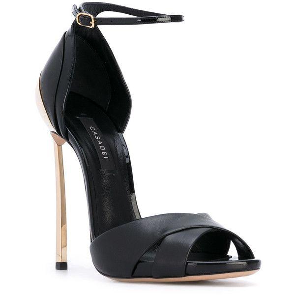 crossover strap sandals - Black Casadei vbBBEve