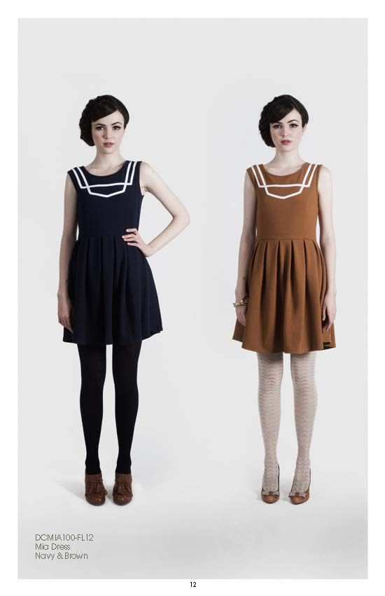 "adorable silhouettes! ""dear creatures"" fall 2012"