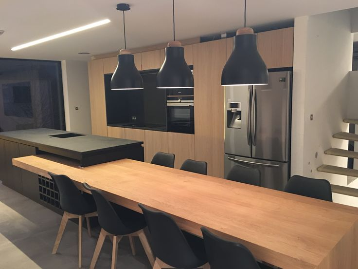 Weiße Küchen, Traumküchen, Offene Küchen, Küchenbankett, Kochinseln,  Kücheninsel Tisch, Küchen Design, Ideen Für Die Küche, Haus Innenräume