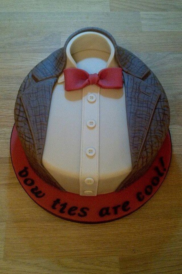 Cake Bow Tie Doctor Who Cakes Dr Who Cake Fathers Day