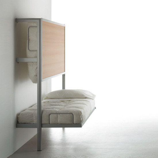 Space Saving Bunk Beds: La Literal Folding Bunkbed Von Sellex